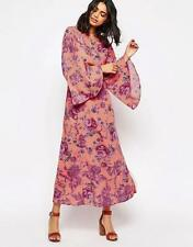 NWT FREE PEOPLE MELROSE BELL SLEEVE CLEMENTINE MAXI DRESS 4