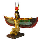 Winged Egyptian Godess Isis Kneeling - Decorative Ornament