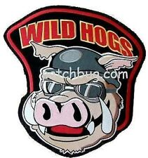 "FANCY DRESS HALLOWEEN PARTY AS SEEN MOVIE WILD HOGS 4"" X 4"" JACKET CHEST PATCH"