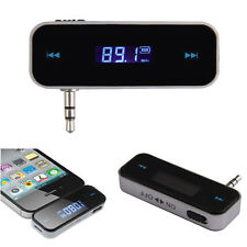 FM Transmitter + Car Charger Wireless Radio Adapter For iPhone Samsung HTC Sony