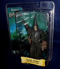 "Harry Potter Goblet of Fire DEATH EATER 7"" Scale Action Figure NECA 2007"