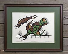 ORIGINAL PRINT  JOSH KAKEGAMIC 1979   WOODLAND  ART   SHOP  PROOF  1/1