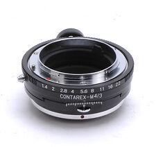 Contarex Lens PC Adapter Für M4/3 Olympus E-P1 E-P2 E-PL1 Panasonic GH2 GF2 GF3