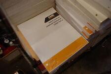 CASE CX330 Crawler Excavator Trackhoe Parts Manual Book spare catalog digger new