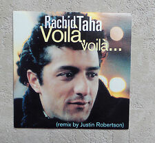 "CD AUDIO / RACHID TAHA ""VOILA VOILA.."" CD SINGLE PROMO 2T 1993 BARCLAY 1759 MINT"