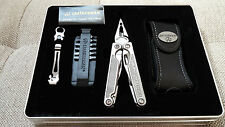 NEW Leatherman Charge XTi Titanium Multi-Tool Premium Leather Sheath in Gift Tin