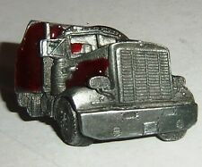 Long Nose Semi Truck Collector's Lapel Pin - Jewelry