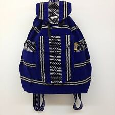 Authentic RASTA Bag Beach Hippie Baja Ethnic Backpack Made in Mexico Unisex R27