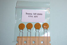 0.9A 900mA 60V Bourns Multifuse MF-R090 resettable fuse Qty. 4