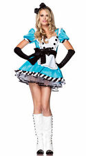 Alice in Wonderland Lolita Blue Dress Maid Costume for Halloween & Cosplay Party