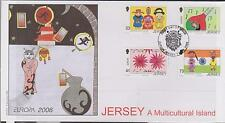 GB - JERSEY 2006 Europa '06 Jersey a Multicultural Island SG 1260/63 FDC