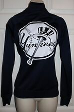 Pink Victoria's Secret League **New York Yankees** MLB Track zip Jacket SM