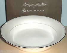 Monique Lhuillier Royal Doulton ATELIER Open Vegetable Bowl Oval Made/UK NEW