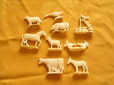 Margarine Figuren Werbefigur Aufsteller Bauernhof Tiere Sammlung Konvolut (4)