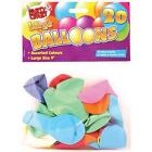 20x Assorted Colours Large 22.9cm Party Wedding Helium Balloons Birthdays