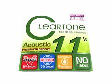 Cleartone Guitar Strings Acoustic Phosphor Bronze 11-52  Super long life