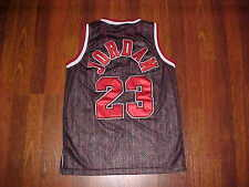 Nike NBA 1984 Flight 8403 Chicago Bulls Michael Jordan 23 Boys Black Jersey XL