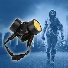 Emergency Survival Safety Respiratory Gas Mask With 2 Dual Protection Filter EA