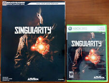 Xbox 360 Game - Singularity c/w Official Guide (Pre-owned)