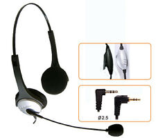 SPA 2.5mm Headset for Polycom 320 330 Linksys SPA921 SPA922 SPA941 SPA942 SPA962