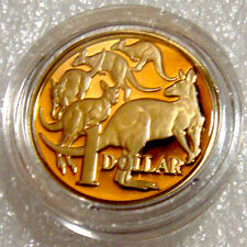 AUSTRALIA 2013 $1 PROOF MOB OF KANGAROOS PROOF HARD TO FIND