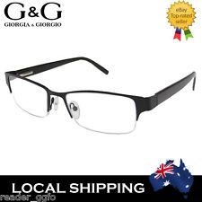 NEW G&G Cool Mens Reading Glasses Black +1.0 +3.0 +3.5