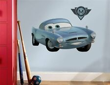 Disney's Cars 2 Finn McMissile Giant Peel and Stick Wall Decal, NEW SEALED