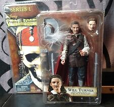 Pirates of the Caribbean Series 1 Will Turner Figure NECA Curse Of Black Pearl