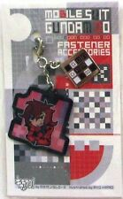 Gundam 00 Ali Al-Saachez Fastener Accessory December Metal Charm Anime MINT