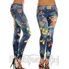 2017 Fashion Womens Denim Jeans Look Sexy Skinny Leggings Jeggings Stretch Pants
