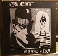 Major Accident ‎– Massacred Melodies Lp Re 2015 Sealed Radiation RRS17 Lim. 500