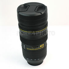 New Stainless Camera Lens 1:1 EF 24-70mm Coffee Cup Mug Thermos Travel Drinking