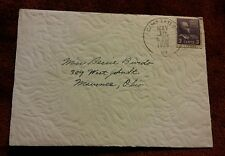 000 VTG 1939 Envelope Postmarked Camp Taylor KY 3 Cent Thomas Jefferson Stamp