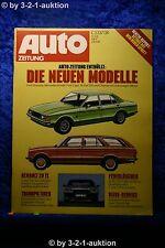 Auto Zeitung 11/76 DB W123 Kombi Ford Granada Triumph Tiger