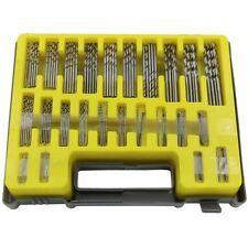 0.4 -3.2mm 150Pc Miniature Screw Drill HSS Precision Twist Drill Bit Plastic Box