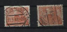 Berlin 46 Plattenfehler I und II, komplett, gestempelt (B05613)