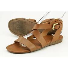 Franco Sarto Glorious Women US 7.5 Brown Gladiator Sandal Pre Owned  1596