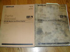 CAT Caterpillar 3512B MARINE ENGINE PARTS MANUAL BOOK CATALOG 8EM1 &UP V12 GUIDE