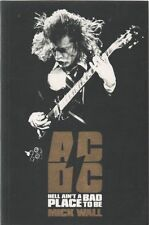 AC/DC Book HELL AIN'T A BAD PLACE TO BE 2012 Mick Wall