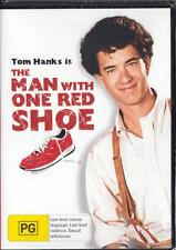 THE MAN WITH ONE RED SHOE - TOM HANKS -  NEW REGION 4 DVD FREE LOCAL POST