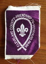 Scout cloth badge