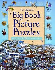 The Usborne Big Book of Picture Puzzles Great Searches New Format
