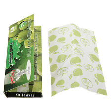 DIY Hornet Peppermint Flavored Cigarette Tobacco Rolling Papers 50 Leaves Glue