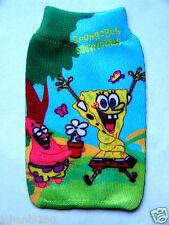 SpongeBob elastisch gsm-,  mp 3  /4, ... - houder / hoesje 7 x 11 cm