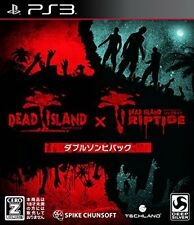 (Used) PS3 DEAD ISLAND:Double zombie pack [Import Japan]((Free Shipping))