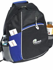 """PICKLEBALL MARKETPLACE """"Metro"""" Backpack - New/Embroidered - Royal Blue"""