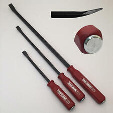 Craftsman 3 PC. PRY BAR SET WITH STRIKE CAP - MADE IN USA
