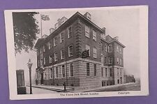 Union Jack Hostel, Military Club, London  -  Old Unused Postcard