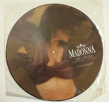 "Madonna  Like A Prayer Maxisingle 12"" UK 1989 fotodisco en funda de PVC"