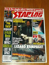 STARLOG #251 SCI-FI MAGAZINE JUNE 1998 X-FILES DEEP IMPACT GODZILLA